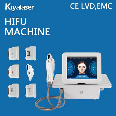 Newest Salon use HIFU face lifting machine